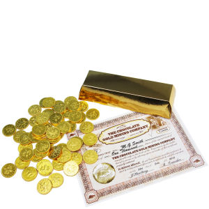 Chocolate Coin Gold Bullion Bar