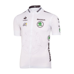 Le Coq Sportif Tour de France Young Riders Classification Official Jersey - White