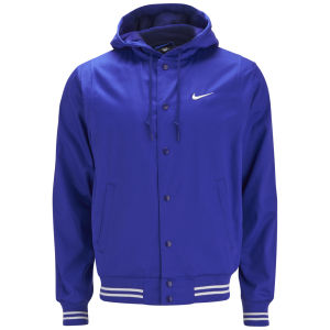 Nike Men's Players Hooded Jacket - Deep Royal Blue