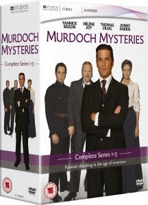 Murdoch Mysteries: Series 1, 2 & 3