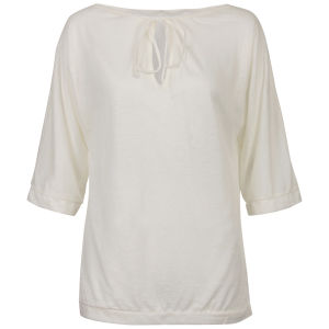 Chloe Women's Classic Tunic T-Shirt - Cream