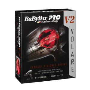 BaByliss PRO Volare V2 Black Compact Dryer