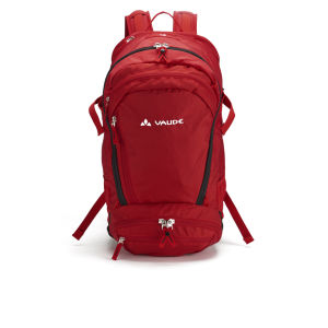 VAUDE Bike Alpin 30+5 Backpack - Red