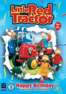 Little Red Tractor - Happy Birthday