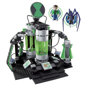 Character Building Ben 10 Azmuths Laboratory Construction Set