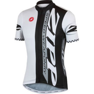 Castelli Zipp Team Jersey - Black/White