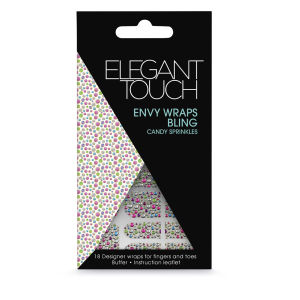 Elegant Touch Envy Wraps - Bling Candy Sprinkles