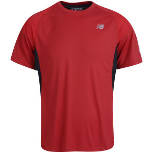 New Balance Men's Impact Running T-Shirt - Dull Red