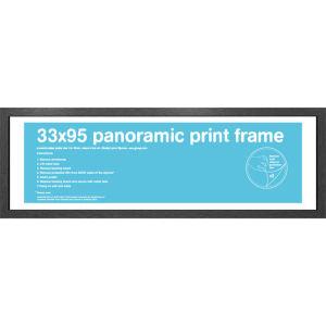 Black Frame Panoramic - 33 x 95cm