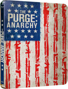The Purge: Anarchy - Zavvi exklusives Limited Edition Steelbook (enthält UltraViolet Kopie)