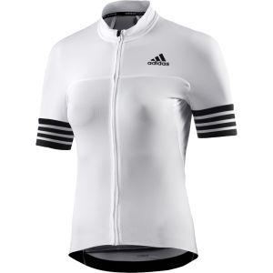 adidas Women's Adistar Short Sleeve Jersey - White