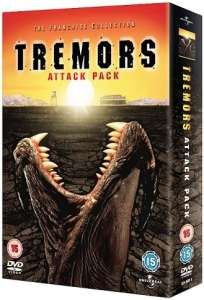 Tremors: Attack Pack (1-4)