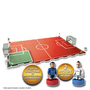 Character Building Sports Stars Footballers Collect and Build - 2 Figures