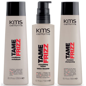 KMS California TameFrizz Ultimate Smoothing Trio – Das ultimative Glättungstrio