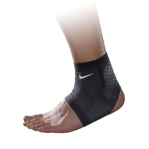 Nike Men's Pro Combat Ankle Sleeve Support - Black