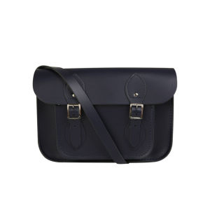 The Cambridge Satchel Company 11 Inch Classic Leather Satchel - Navy