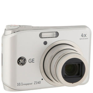 GE Z140 SL 10 MP Digital Camera - Silver - Grade A Refurb