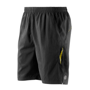 Skins Men's Stride 8 Running Shorts - Black/Yellow