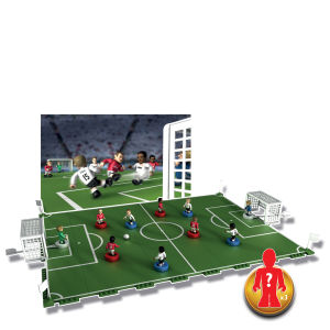 Character Building Sports Stars Pitch & Play With 3 Figures