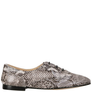 Just Ballerinas Women's Snakeskin Lace-Up Shoes - Snakeskin