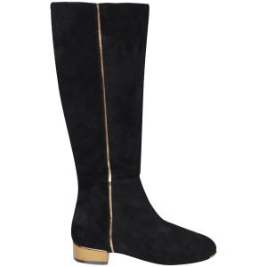 Ted Baker Women's Passam Suede Knee High Boots - Black