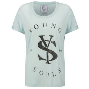 Zoe Karssen Women's Young Souls T-Shirt - Soothing Sea