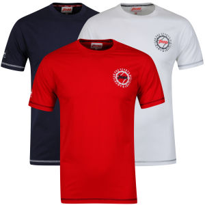 Penn Men's 3-Pack Division T-Shirt - Navy/White/Red