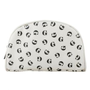 Tumbling Initial Make-Up Bag - G