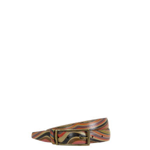 Paul Smith Accessories Women's 2944-V26R Classic Suit Belt - Swirl