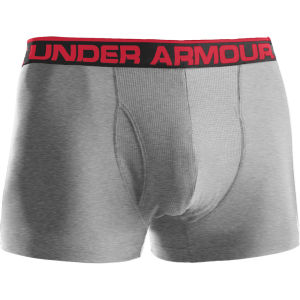 Under Armour Herren The Original 3 Zoll Boxerjock - Grau /Rot