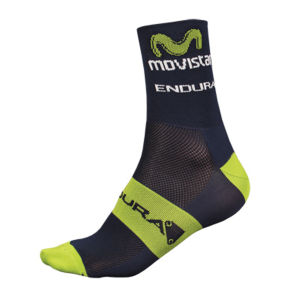 Movistar Team Replica Socks - Blue 2014