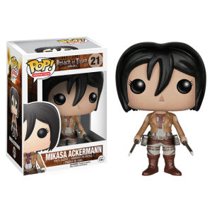Attack on Titan Mikasa Ackerman Funko Pop! Figur