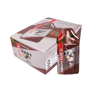 Clif Shot Chocolate Energy Gel - Box of 24