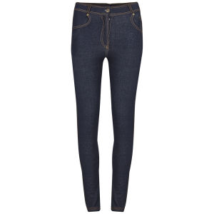 Influence Women's Zip Front Jeggings - Blue