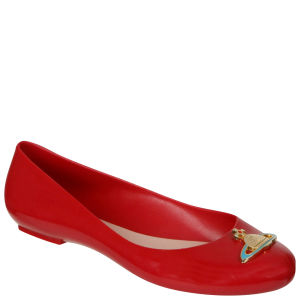 Vivienne Westwood for Melissa Women's Devine Ballet Pumps - Red