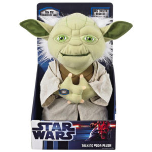 Star Wars 11 Inch Talking And Moving Doll - Yoda