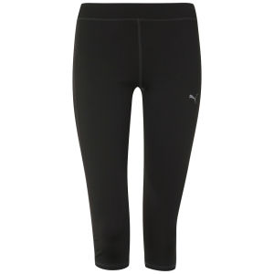 Puma Women's Drycell 3/4 Running Tights - Black