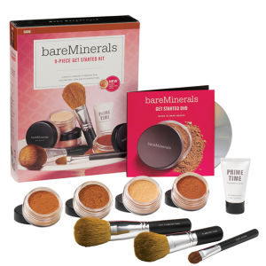 bareMinerals 9 Piece Get Started™ Complexion Kit (Dark) - Worth £108.00