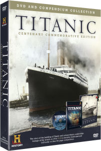 Titanic DVD and Compendium Pack
