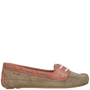 Sebago Women's Bala Moccasin Boat Shoes - Milkshake/Coral