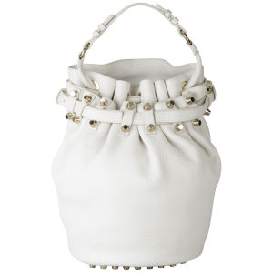 Alexander Wang Diego Soft Leather Bag - Peroxide/Gold