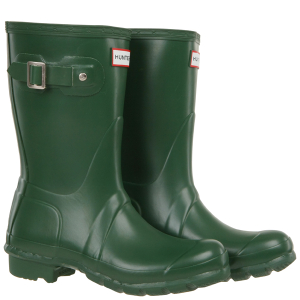 Hunter Women's Original Short Wellies - Green