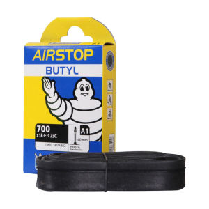 Michelin Airstop Road Short Valve Inner Tube - 10 Pack