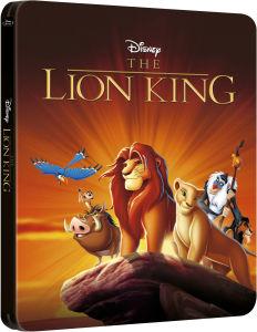 Der König der Löwen 3D - Zavvi exklusives Limited Edition Steelbook (enthält 2D Version)