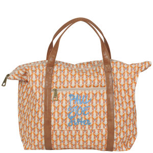 Paul & Joe Sister Ecobag Butterfly printed holdall