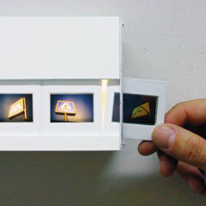 Pack of 36 Slides for Wall Mounted Photo Slide Light