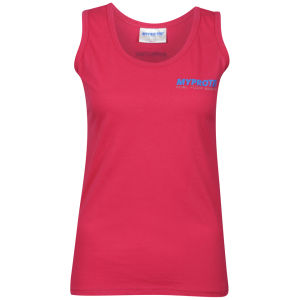 Camiseta sin mangas Myprotein para mujer – Rosa