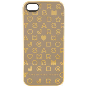 Marc by Marc Jacobs Metallic Stardust iPhone 5 Case - Gravel Grey