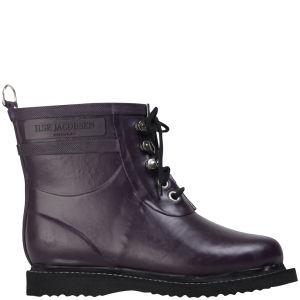 Ilse Jacobsen Women's Short Rubber Boot - Plum