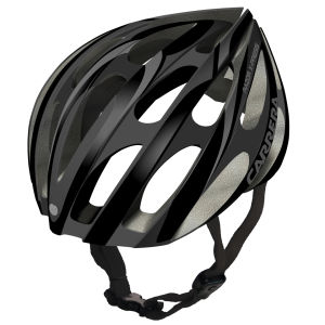 Carrera Razor X-Press 2014 Road Helmet - Matt Black/Silver